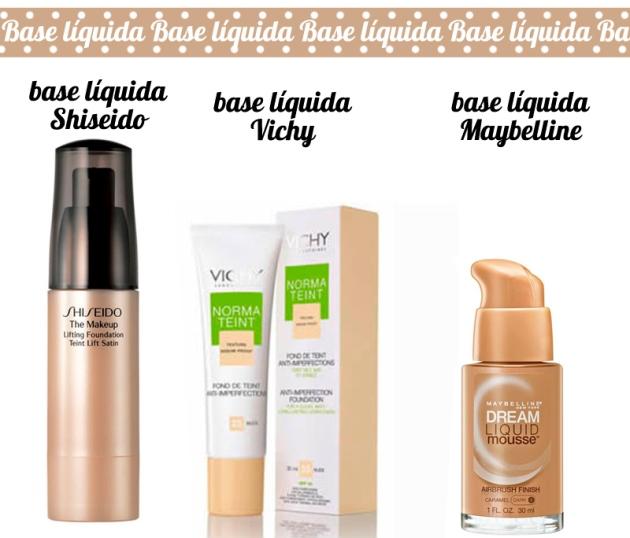 Tipos de Base Liquida