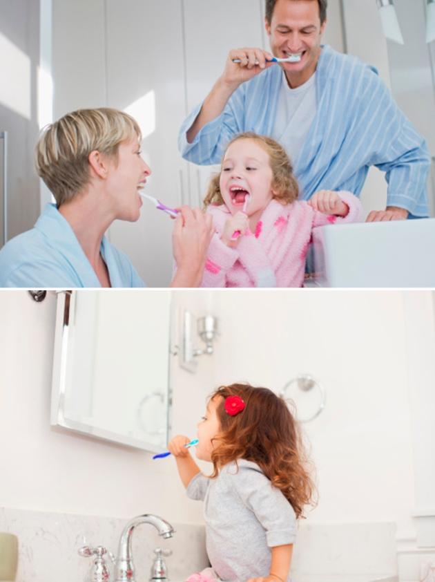 Cuidados com os dentes na infância 1